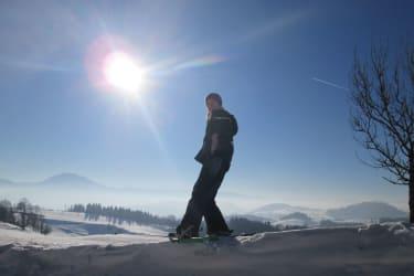 Ötscherblick Familie Winter - Schneeschuhwanderung (© Winter Angelika)