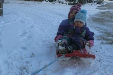 Die ersten Schneeflocken sind gefallen