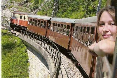 Mariazeller Bahn,2013 kommt die neue Himmelstreppe