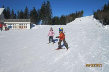 Skifahren am Turmkogel