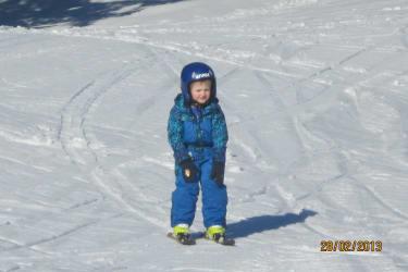 unser kleiner Rennfahrer!