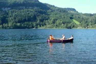 Bootsfahrt am Lunzersee