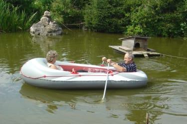 Boot am Hausteich