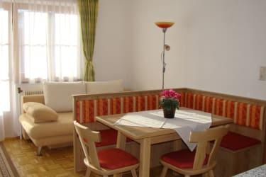 Familienwohnung Sitzecke