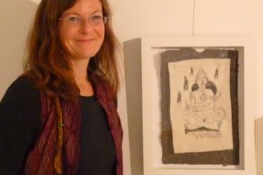 Künstlerin Christa Ja-Stängl