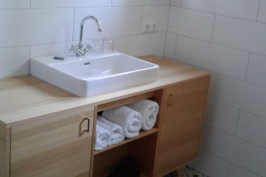 Apartment Haberfelner Badezimmer