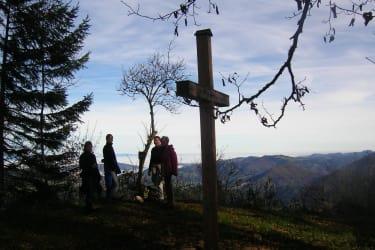 Aussicht vom Egger Berg, unserem Hausberg