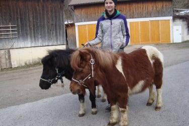 Lea mit den Ponys