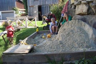 Der neue Sandplatz