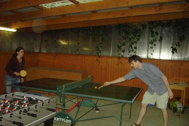 Tischtennismatch