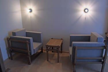 Familie Bauer - elegante Sitzmöglichkeit (Beispiel: Zimmer Auberg)