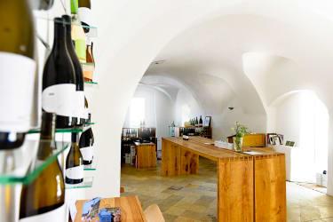Weinverkostungsraum