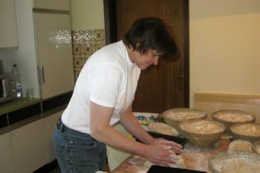 Brot wird gebacken