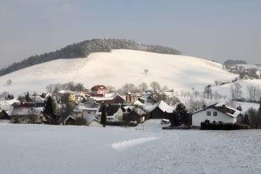 Maierhöfen im Winter