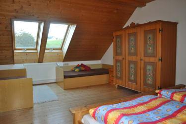 Simandlmühle - SchlafzimmerFerienhaus