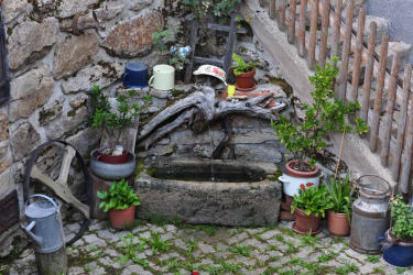 Simandlmühle - Garten