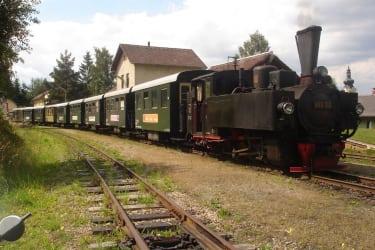Waldviertelbahn - Kopfbahnhof Groß Gerungs