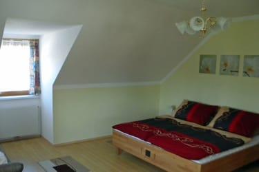Ferienwohnung zum Storchennest - Schlafzimmer