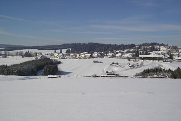 Sallingberg im Winter