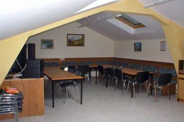 Seminarraum im Dachgeschoss