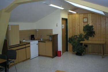 Küche des Seminarraumes