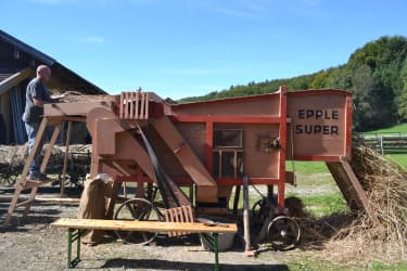 Dreschwagen von 1950