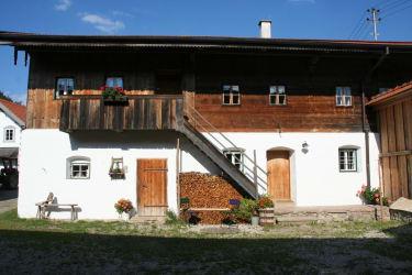 Innenhof mit Wohnungsaufgang