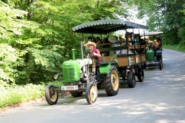 Oldtimer-Traktorfahrt