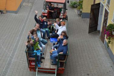 Auf zur Traktorsafari