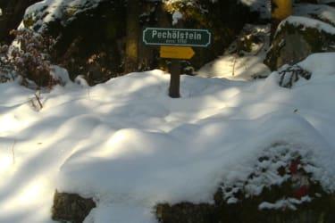 pechölstein im Winter