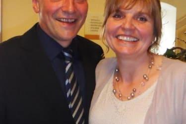 Gastgeber Silvia und Hubert