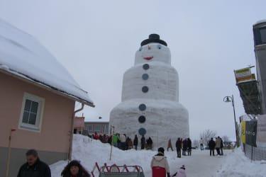 größter Schneemann von Europa