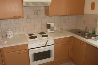 schöne Küche, komplett ausgestattet - Apartment 1