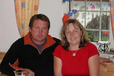 Gastgeber - Inge und Walter Pinsker