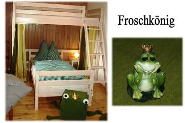 Kinderzimmer Froschkönig