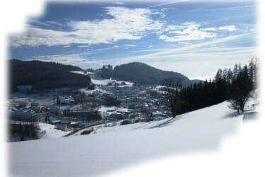 Winter Blick nach Unterweißenbach