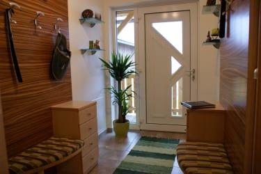 Eingangsbereich zu beiden Ferienwohnungen