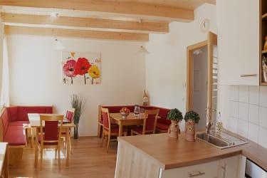 Gästeküche / Frühstücksraum