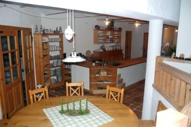 Aufenthaltsraum mit Gästeküche