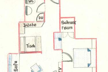 Grundriss Wohnung Kasberg