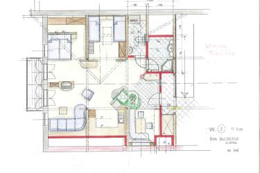 Grundriss Wohnung Traunstein