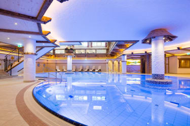 Almbecken in der Wellness-Alm