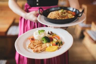 Herzhafte Gerichte im Leopoldhof