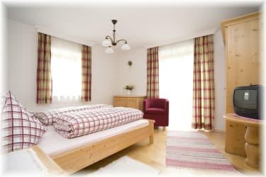 Schlafzimmer in Ferienwohnung Glockenblume
