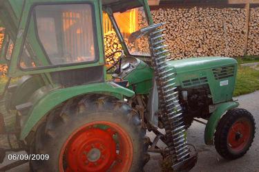 Unser alter Traktor