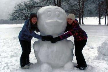 Schneeente