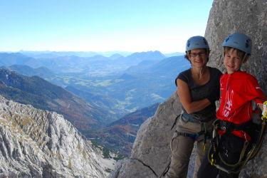 Klettersteig Gr. Priel