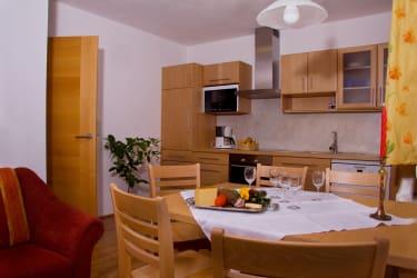 Wohnküche Schmalzer Alm