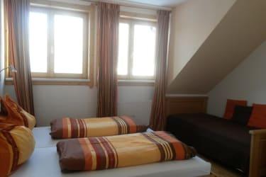 3 Bett Zimmer in der Ferienwohnung