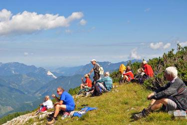 Bergwandern im Pyhrn/Prielgebiet